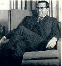 Howard Swearer, as seen on page 3 of The Carletonian on February 19, 1970, in an interview with student Don Camp.